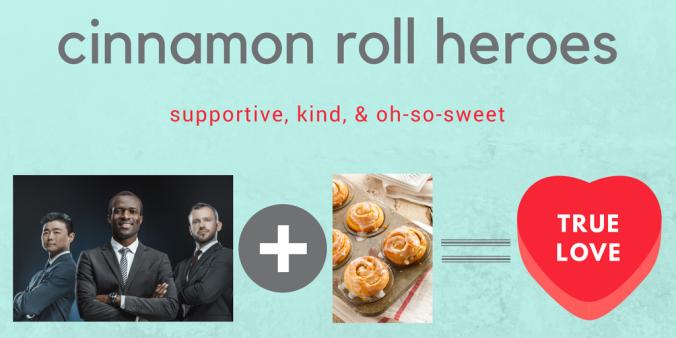 cinnamon roll heroes