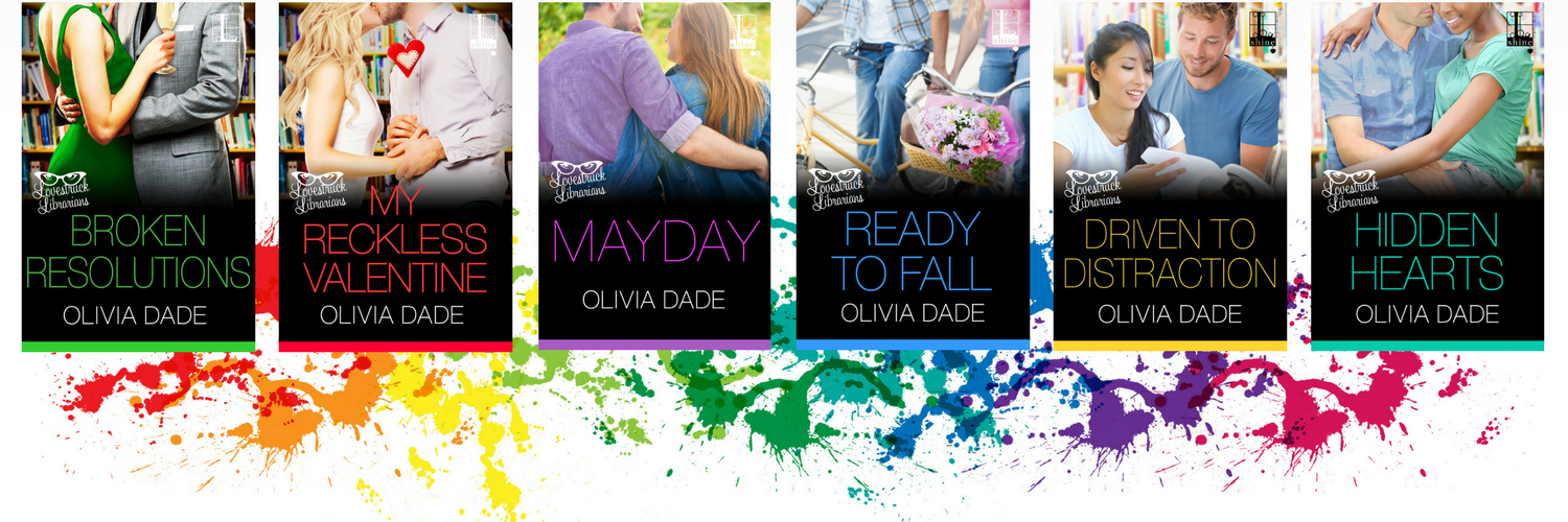 Lovestruck Librarians covers